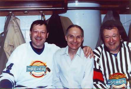"Andre ""Moose"" Dupont - Don Jackson - Ron Hoggarth"